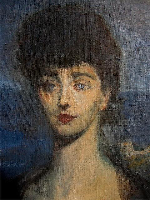 Peintures jean noel lavesvre - Brune yeux bleus ...